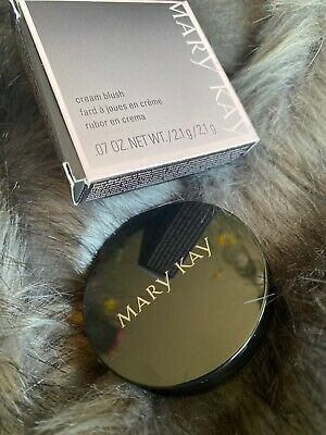 New Mary Kay Red Cranberry Cream Blush Cheek Color Discontinued Makeup Cosmetic