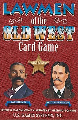 Lawmen Of The Old West Playing Cards-New In Box!