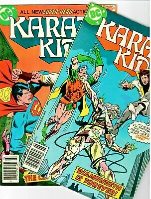 Karate Kid  (DC 1978) #'s 12 & 14 Late Issue's With Superboy & Robin! Bronze-Age