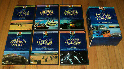 The Jacques Cousteau Odyssey - The Complete Series (DVD, 2005, 6-Disc Set)