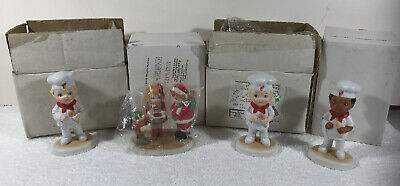 Campbells Soup Kids Figurines and Ornaments, Lot of 4