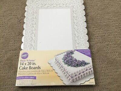 NEW Wilton 14x20 in SHOW n SERVE SERVING BOARDS