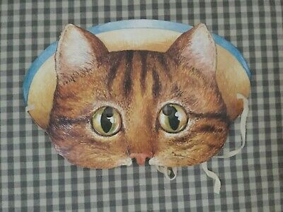 Rare Beatrix Potter Tom Kitten Paper Mask 1993
