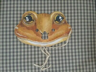 Rare Beatrix Potter Jeremy Fisher Paper Mask 1993