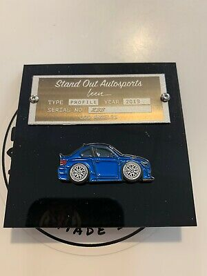 Leen Customs & Stand Out LA BMW E92 Euro Enamel Car Pin #233 SOLD OUT RARE