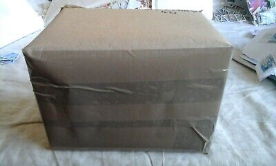 Box of British Commonwealth Kiloware 0.436Kg worldwide,OFF paper,some stockcards