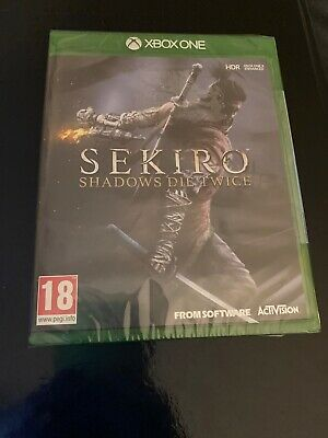 Sekiro Shadows Die Twice - SEALED - BRAND NEW - Xbox One