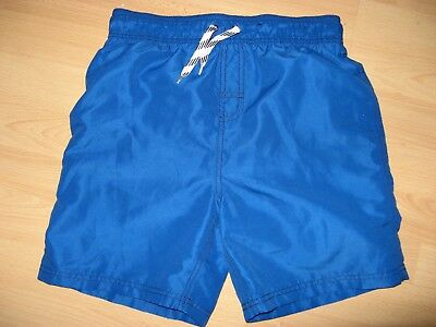 Worn Once Boys Royal Blue Swimmin Beach Pool Shorts Age 11-12 Approx 24/26 Waist