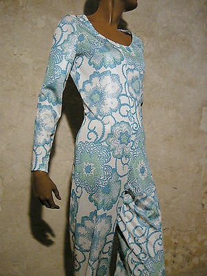 Vintage Chic Suit 1970 Vtg Jumpsuit 70s Seventies Retro (38)