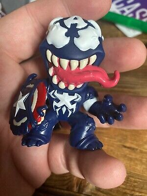 Funko POP! Marvel Mystery Minis Marvel Venomized Captain America 1/6 In Hand