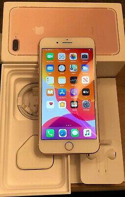 Apple iPhone 7 Plus - 32GB - Rose Gold (Unlocked) A1784 Immaculate condition