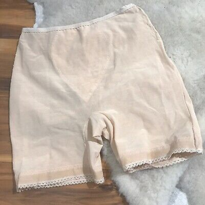 Vintage Vassarette Underneath It All Shaper Nude Panty Girdle Size Medium