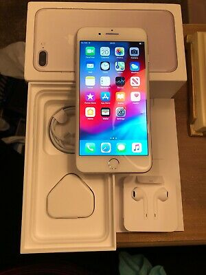 Apple iPhone 7 Plus - 32GB - Silver (Unlocked) A1784 (GSM) Full Box +Accessories