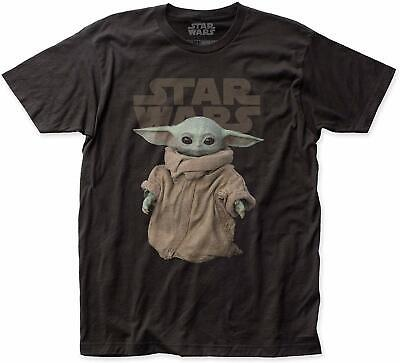 Authentic STAR WARS THE MANDALORIAN The Child Baby Yoda T-Shirt S-2XL NEW