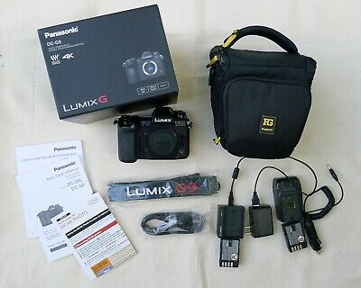 Panasonic LUMIX DC-G9 20.3 MP Camera; near-new, original accessories +