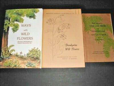Lot # 32 - Three Books On Plants And Flowers Of Pennsylvania