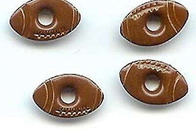 """Brown FOOTBALL 1/8"""" EYELETS Scrapbooking Sports Touch Down Card Making Stamping"""