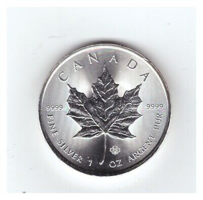 2014 CANADA 1 oz .9999 SILVER Proof $5 MAPLE LEAF with MAPLE LEAF PRIVY MARK