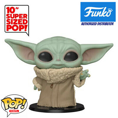 "Funko Pop! The Mandalorian 10"" Baby Yoda Vinyl Figure w/ Protector May Pre-Order"