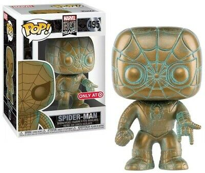 New Funko Pop! Marvel 80th Anniversary- Patina Spider-Man Target Exclusive #495