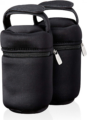 Tommee Tippee Closer to Nature Insulated Baby Bottle Bag, Pack of 2