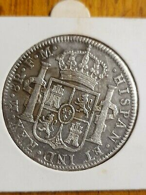 1794 Mexico 8 Reales Charles IV