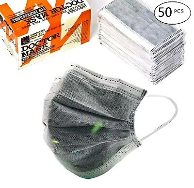 50 PCS Surgical Face Mask LEVEL 4 Medical Ear Loop - 2 days Fast Shipping