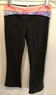 Ivivva Athletic Yoga Pants Girls Size 8 Full Length - Great Used Condition
