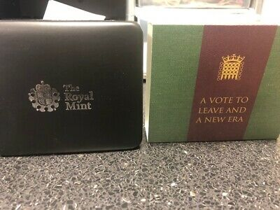 2020 UK BREXIT 50p SILVER PROOF..! COA ..!PRESENTATION BOX..! NOW SOLD OUT d