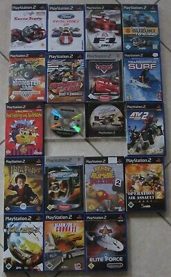 19 Sony Playstation 2 Spiele Spiel PS2 ps2 PlayStation 2 Videogame Games