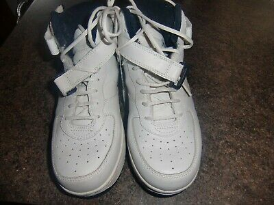 Nikken, Cardiostrides White Weighted Hi-Top Trainers  Size 6