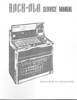 Rock-Ola Model 440 Service Manual .Pdf File (119 Pages)