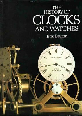 Horology - History Of Clocks & Watches - Eric Bruton - Classic Study - Large H/B