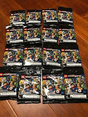 Lego DC Super Heroes Complete Set of 16 Minifigures 71026 - SEALED, ON HAND