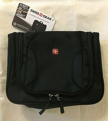 SwissGear Travel Bag Toiletry black with hook (new w/ tags)