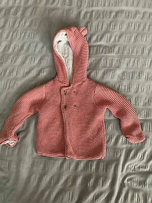 Girls Hooded Top 9-12 Months