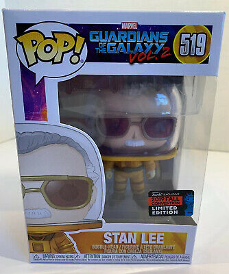 Funko Pop! Stan Lee Marvel Guardians Of The Galaxy NYCC 2019 Comic Con EXCLUSIVE