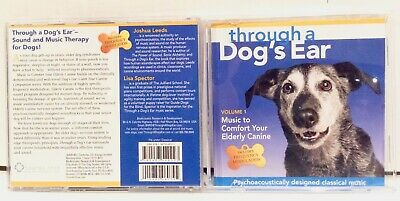 CD Through a Dog's Ear  Music to Comfort Your Elderly Canine, Vol 1, booklet
