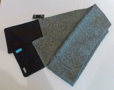 Women's Bark Gray Scarf Dog Walking Scarf Pockets for Treats and Poop Bags NWT