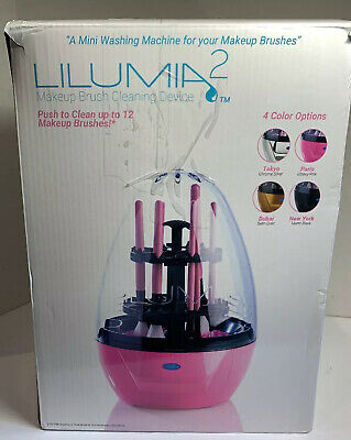 Lilumia 2 Makeup Brush Cleaner Device (Matte Black) Electronic Cleaning Machine