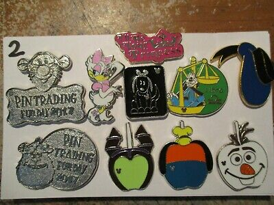 Lot of 10 Disney Trading Pins