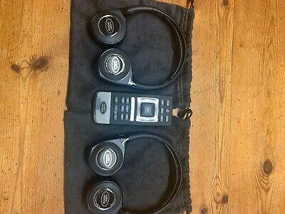 LAND ROVER DISCOVERY HEADPHONES REMOTE. New 2018