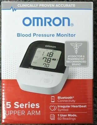 Omron 5 Series Upper Arm Blood Pressure Monitor BP7250