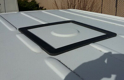 """Sprinter NCV3 or VS30 Roof Vent Adapter for 14"""" x 14"""" opening"""