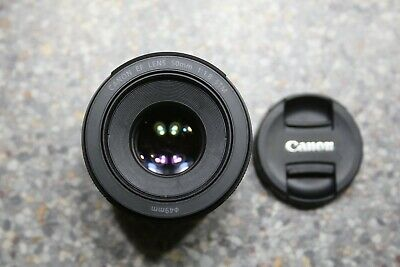 Canon EF 50mm 1:1.8 STM lens for Canon EOS 1D, 5D, 90D, 80D, 4000D DSLR camera
