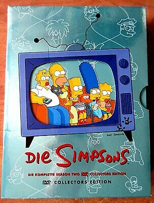 Die Simpsons, Die komplette Season Two, DVD Collectors Edition, 2002