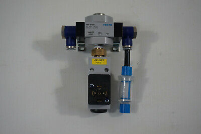 Festo Frm-D-Mini 164950 Abzweigmodul and Festo PEV-1/4-B 10773 Pressure Switch