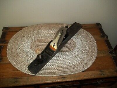 Vintage STANLEY BAILEY No #7 Type  11  Smooth  Wood Plane 3 Patent Dates