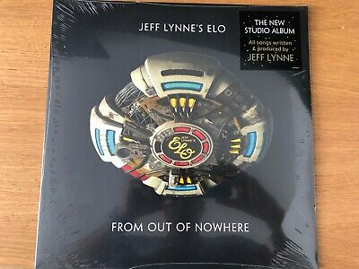 Jeff Lynne's ELO From Out Of Nowhere Sealed Vinyl LP Electric Light Orchestra