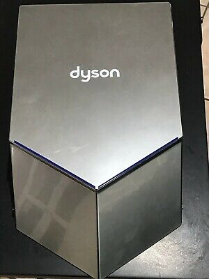 Dyson Airblade V Quiet Hu02 Polycarbonate Hand Dryer - Silver